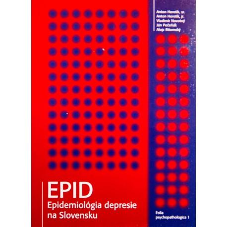 EPID - epidemiológia depresie