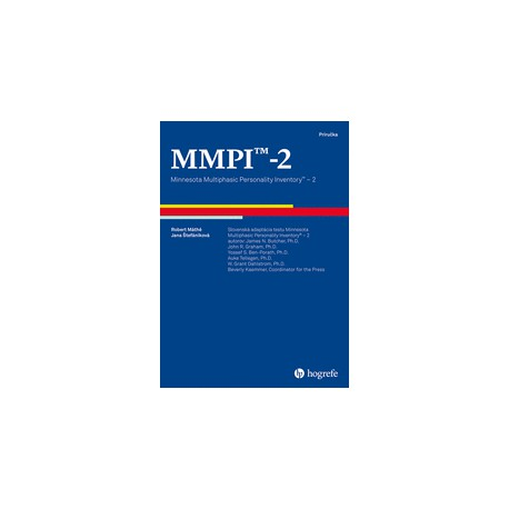 MMPI®-2: Minnesota Multiphasic Personality Inventory®-2 CZ ver.